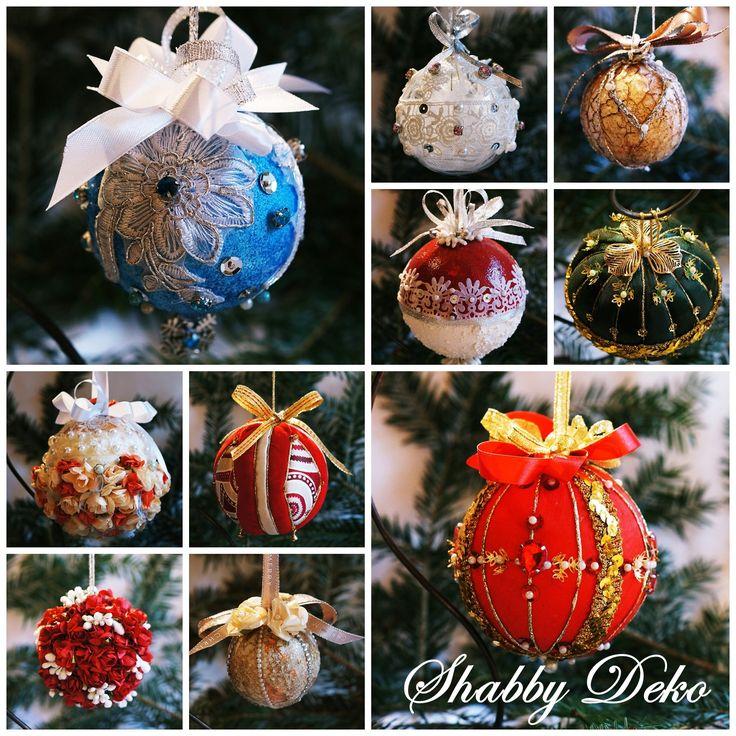 Unique Christmas balls Globuri pentru Craciun unicat