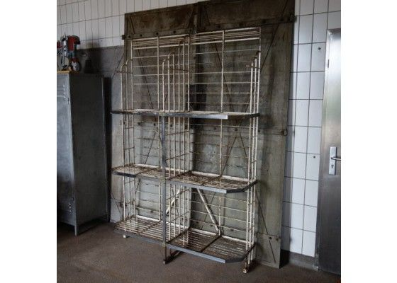 French industrial bakers rack