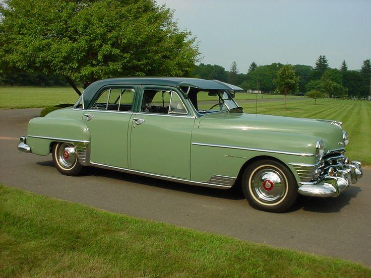 1951 Chrysler Saratoga Club Coupe Transportation Pinterest