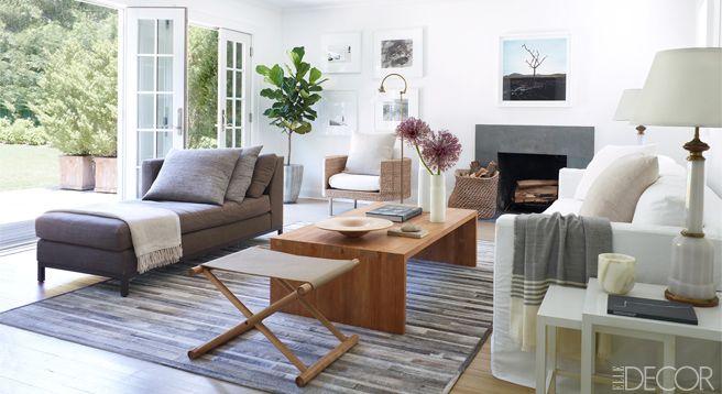Malcolm Carfrae Hamptons Cottage - Calvin Klein's Malcom Carfrae's Home - ELLE DECOR