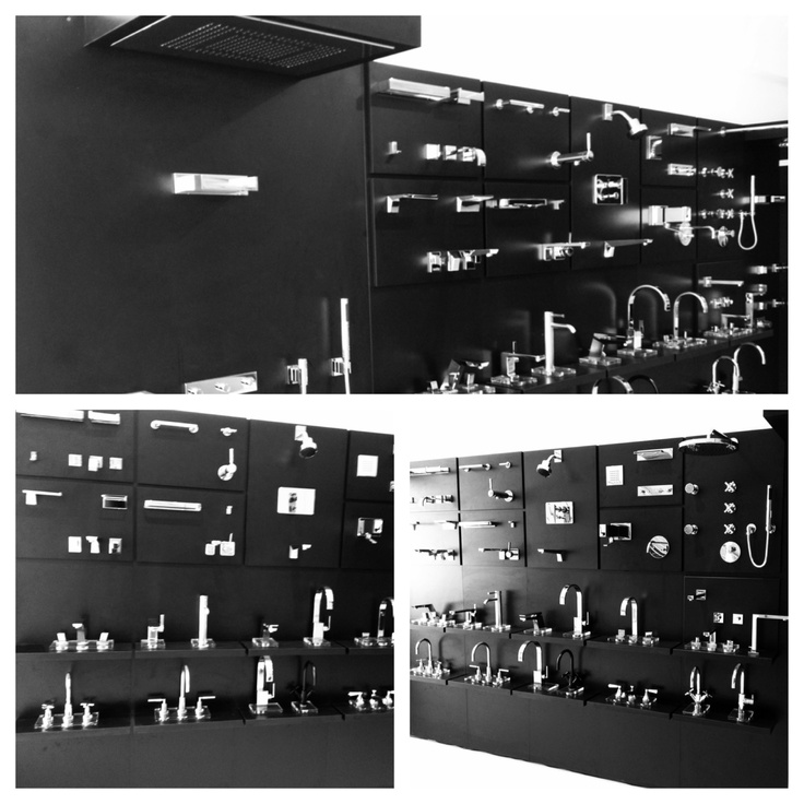 Dornbracht Display at our new showroom in the Miami Design District. 3612 NE 2nd Avenue.