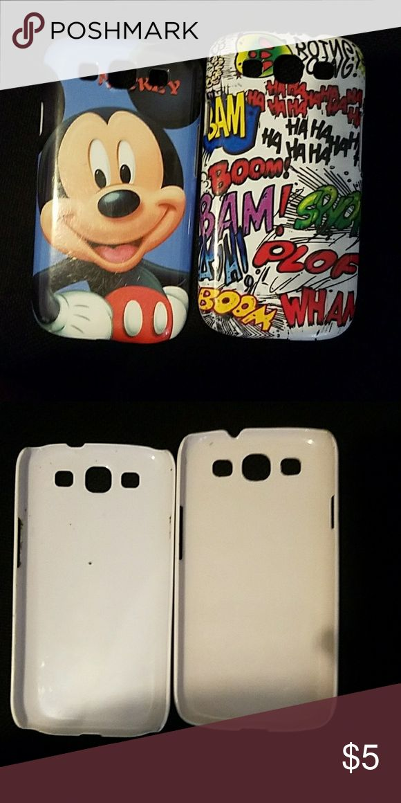 🌻 2 Galaxy S3 Phone Cases Buy 2 🌻 get 1 FREE Used but like new condition. Samsung Galaxy S3 phone cases. Accessories Phone Cases