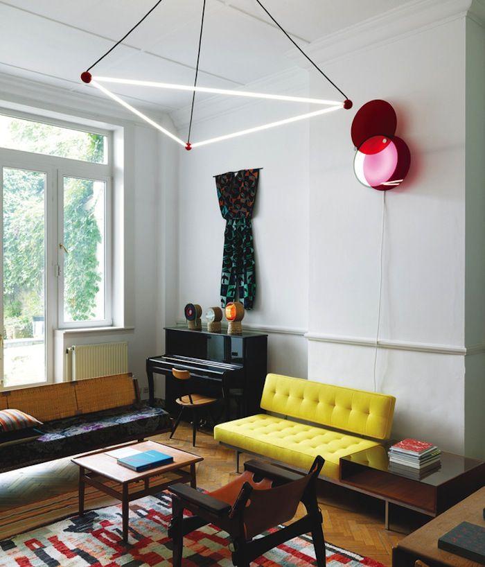 triangular lamp
