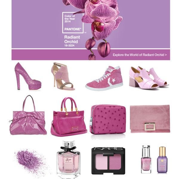 Radiant Orchid Pantone 2014 - Polyvore