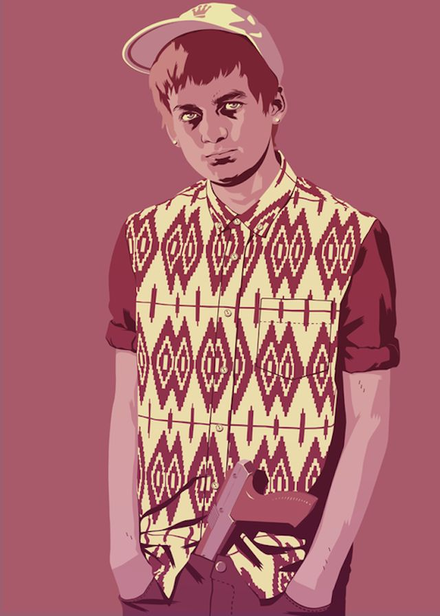 Joffrey Baratheon | Illustration by Mike Wrobel