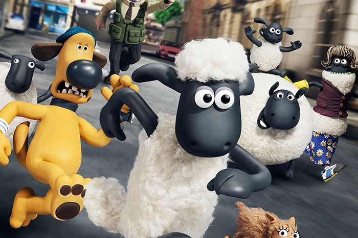 Look! It's Shaun the Sheep on The Big Screen! Enter to Win!