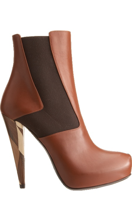 Fendi Wuthering Heights Platform Ankle Boot ♥✤