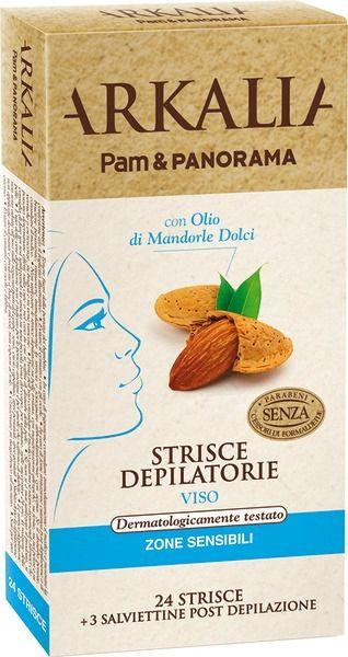 Pam Panorama - Strisce depilatorie zone sensibili per bikini e ascelle