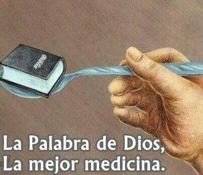 No hay emfermeda que la palabra de Dios no pueda curar.