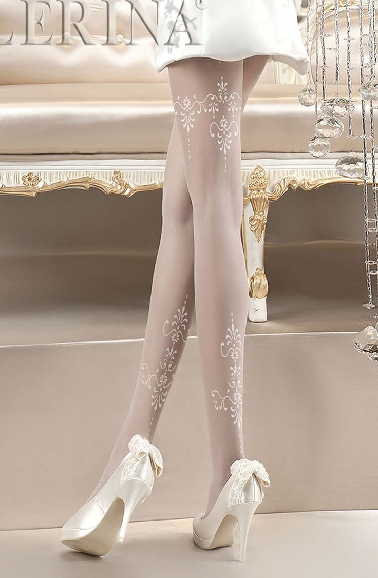 Ballerina 118 Tights Bianco (White) £12