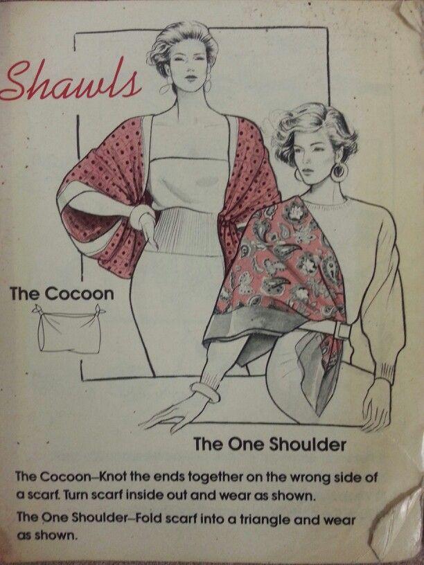 Shawls (Scarf tying - pg 3)