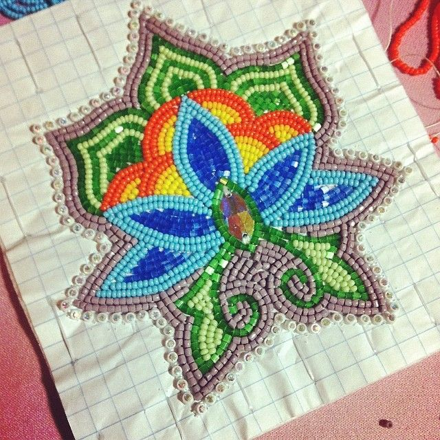 Samantha Callaway @sammaycallaway | Websta Can't tell if this is beadwork or stitching but an interesting well-done project.