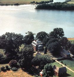 Shirley Plantation on the James River - Virginia
