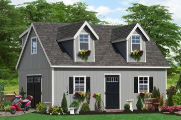 Two story shed plans free woodworking projects plans for Two story shed plans free