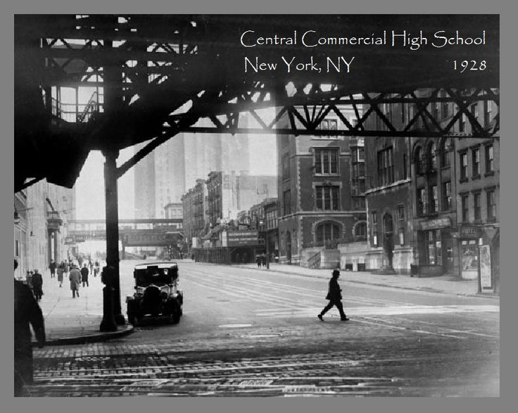 Central Commercial High School 1928 Before the Daily News