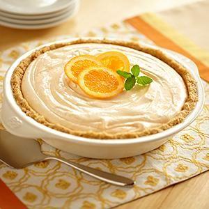 Fluffy Orange Pie: Fluffy Orange, Desserts, Sweet, Dessert Recipes, Pies Tarts