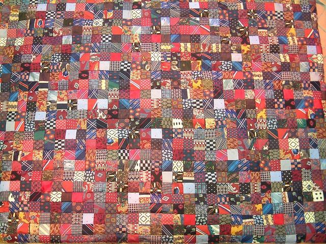 373 best Quilts: From Men's Ties images on Pinterest | Necktie ... : quilting for men - Adamdwight.com