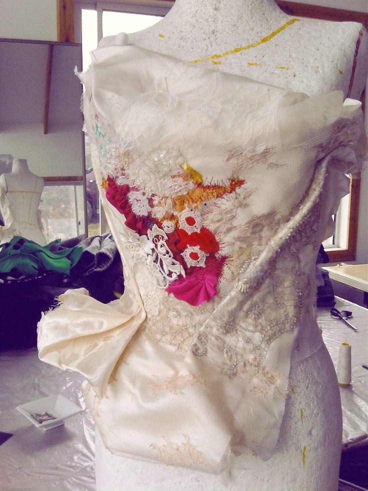 Magnolia dress (proceso)