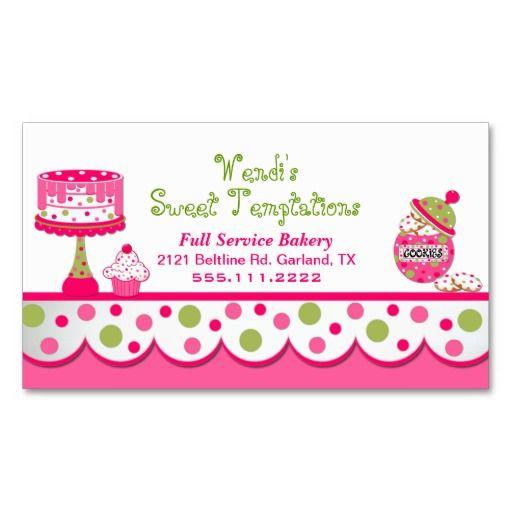 356 best Bakery Business Cards images on Pinterest Bakery