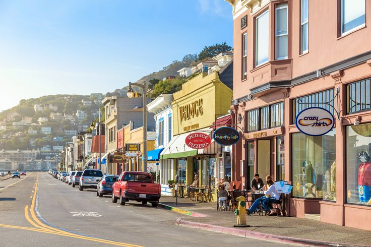 Sausalito is a San Francisco Bay Area city in Marin County, California © f11photo / Shutterstock