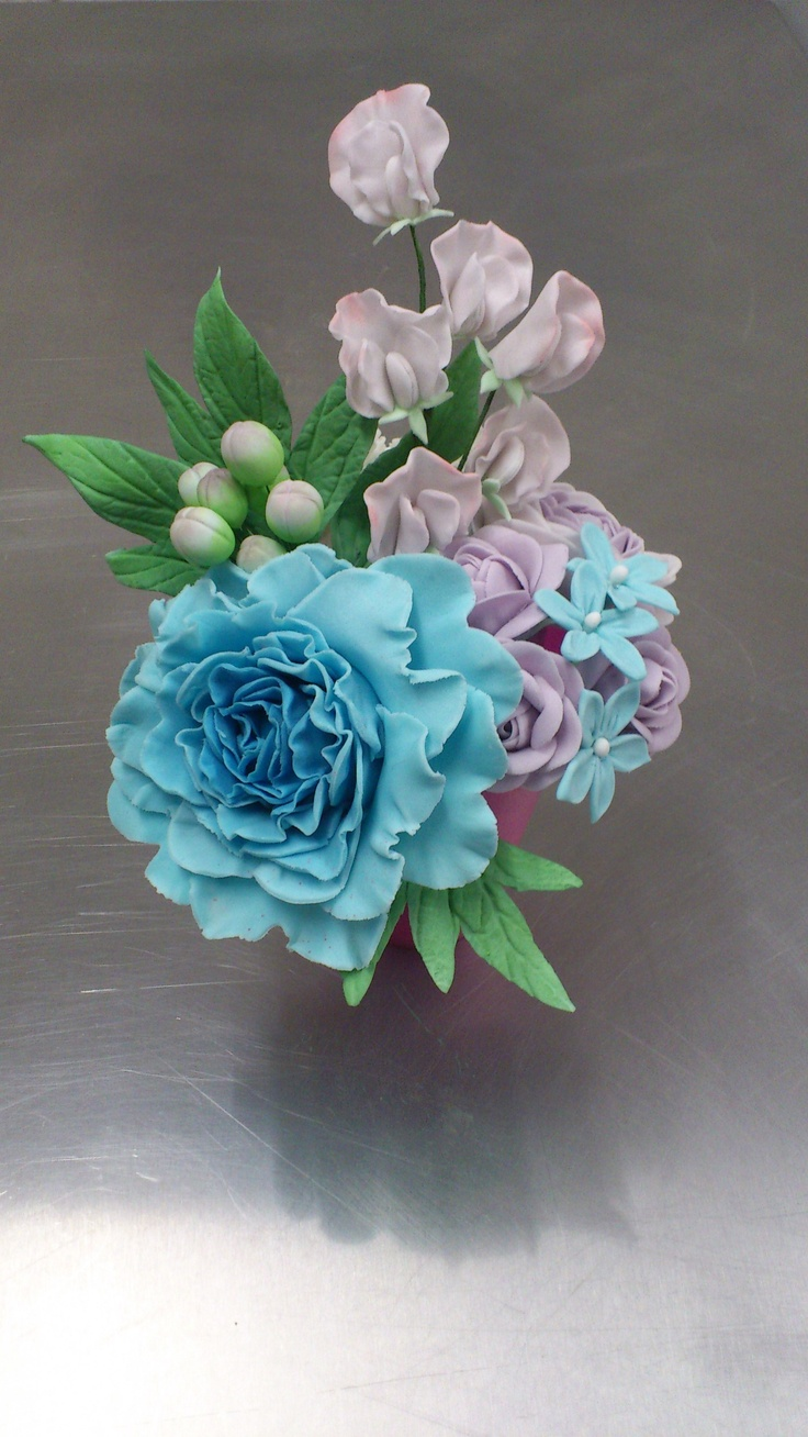 sugar paste flowers instructions