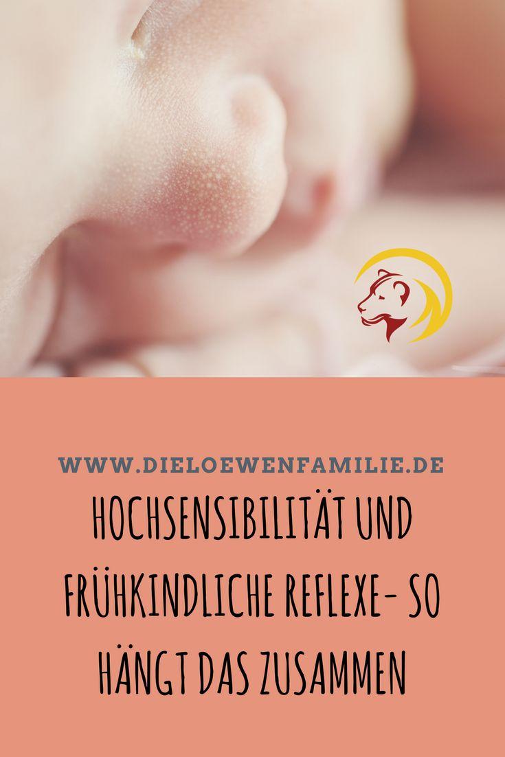Hast Du schon mal was von frühkindlichen Reflexen gehört? Das sind Reflexe, die schon im Mutterleib angelegt werden und für Geburt und die ersten Lebensmonate lebensnotwendig sind. Danach müssen sie gehemmt werden. Geschieht dies nicht, kann das fatale Auswirkungen haben. Der Moro Reflex kann sich, nicht gehemmt, ähnlich wie eine   Hochsensibilität auswirken, jedoch mit unangenehmen Begleiterscheinungen #hochsensibel #hsp #hochsensibilität #hochsensibleskind #hochsensiblefamilien #Mororeflex