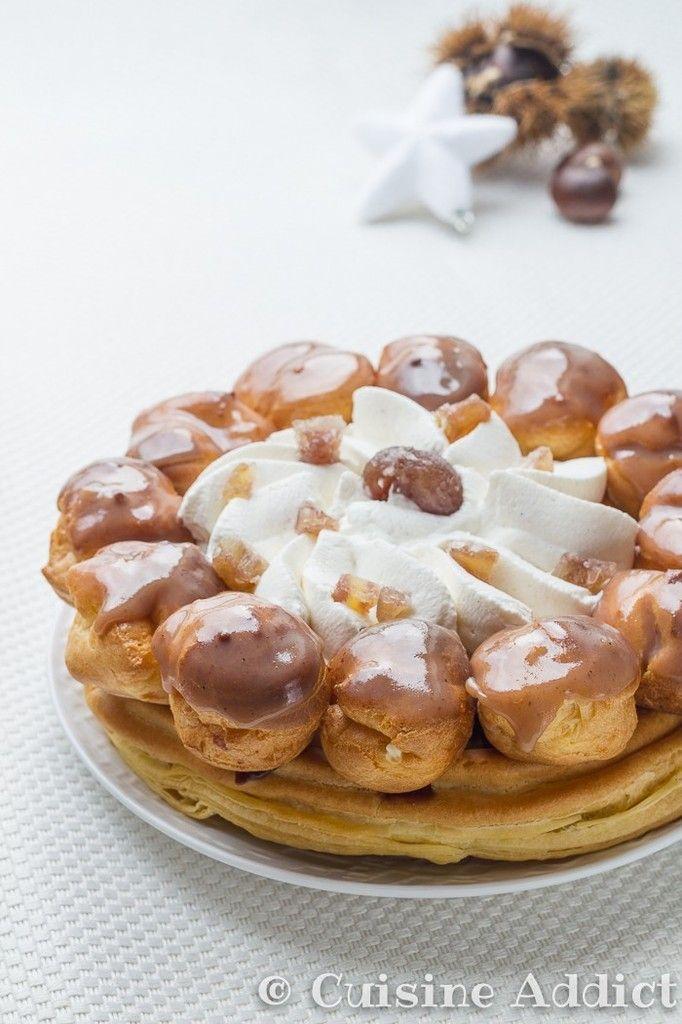 St Honoré aux Marrons & Kirsch - Cuisine Addict - Food & Travel