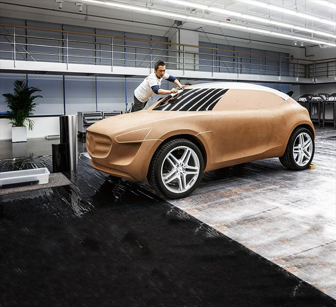 Mercedes-Benz Vision G-Code. SUC study from Asia for Asia.