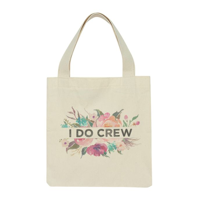 """""""I Do Crew"""" Hen Party Swag Bags / Tote Bags / Wedding"""