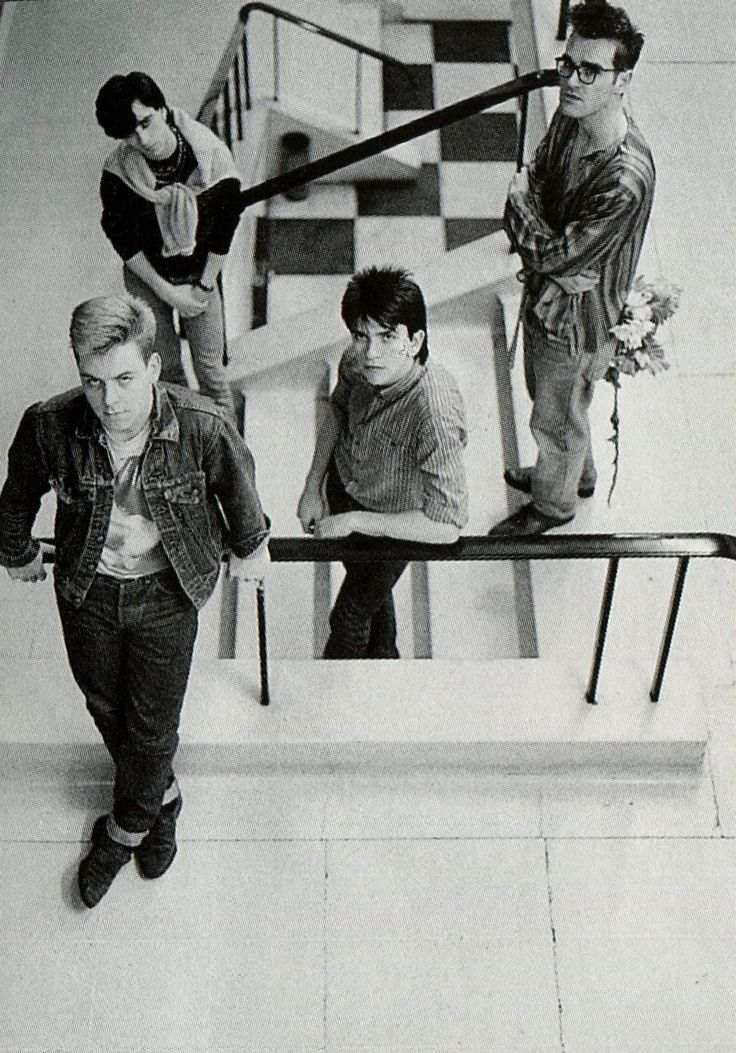 The Smiths  ― photo by Wolfgang Wesmer.