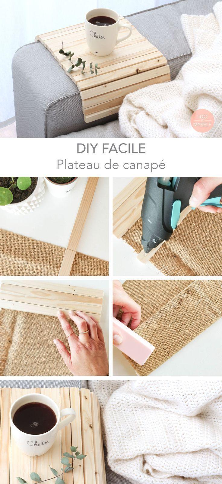 WOOD DIY : Create a nice couch arm wrap! DIY BOIS : Créez un joli support pou