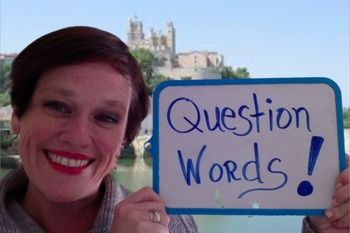 Add Question Words to Your Questions:  Lesson, Video, Exer