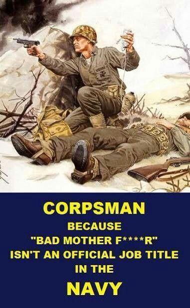 Corpsman!!!!