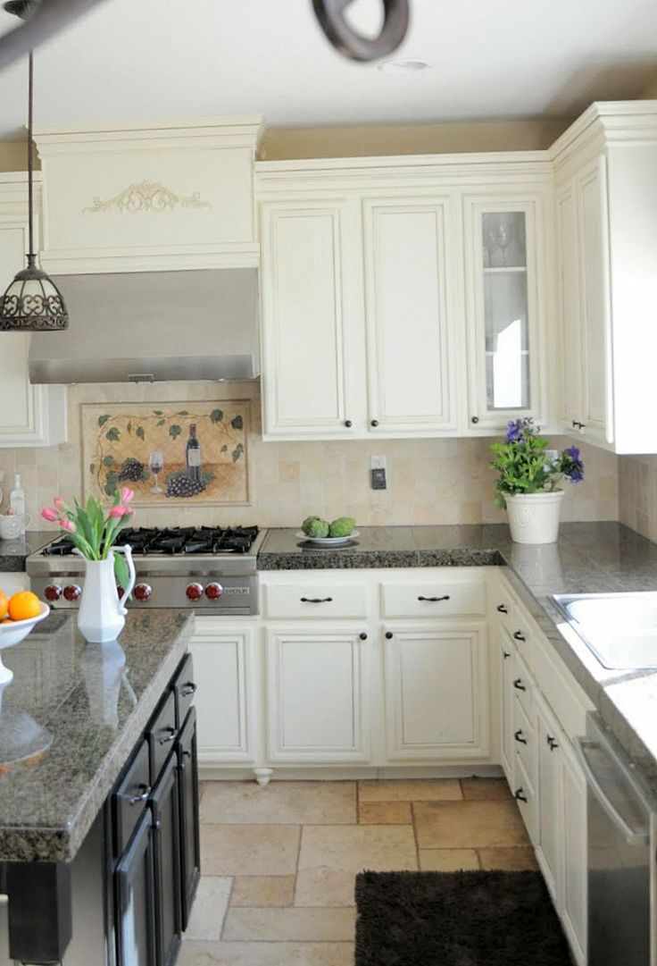 Al al alno kitchen cabinets chicago - Great Tutorial On How To Add Decorative Moulding On Your Builder Grade Kitchen Cabinets I Just Love Everything About This Kitchen Colors Are Great