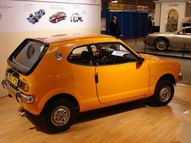 Honda Z600 2 door micro car from the 70s.