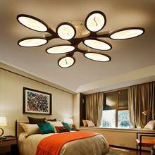 Современные СВЕТОДИОДНЫЕ гостиной Потолочные светильники Спальня столовая Акриловые лампы plafondlamp luminarias де Потолочные светильники Светильники(China (Mainland))