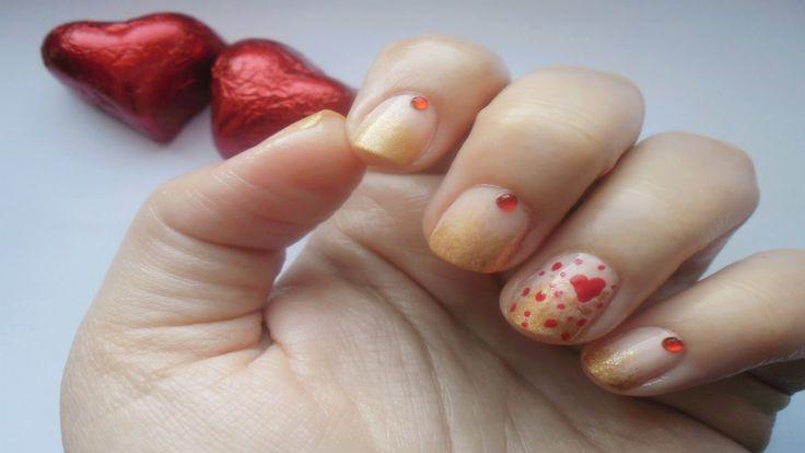 Valentine's Day Nails ▎Nail Art Tutorial