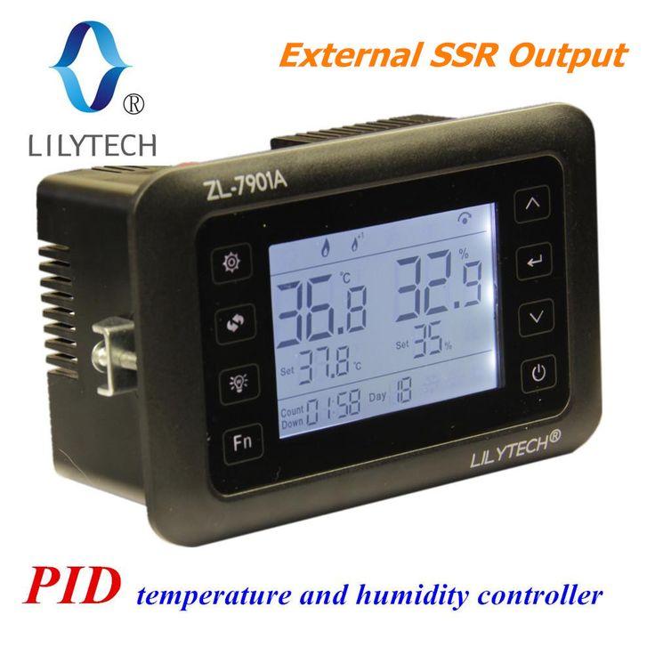 ZL-7901A, 100-240VAC, Multifonctionnel Automatique Incubateur, température et régulateur d'humidité pour incubateur, PID, incubateur, LILYTECH