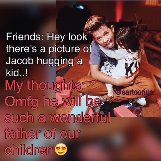 Yeah... My kids will have a wonderful life and dad.. And I will have a wonderful husband.. Love you Jacob