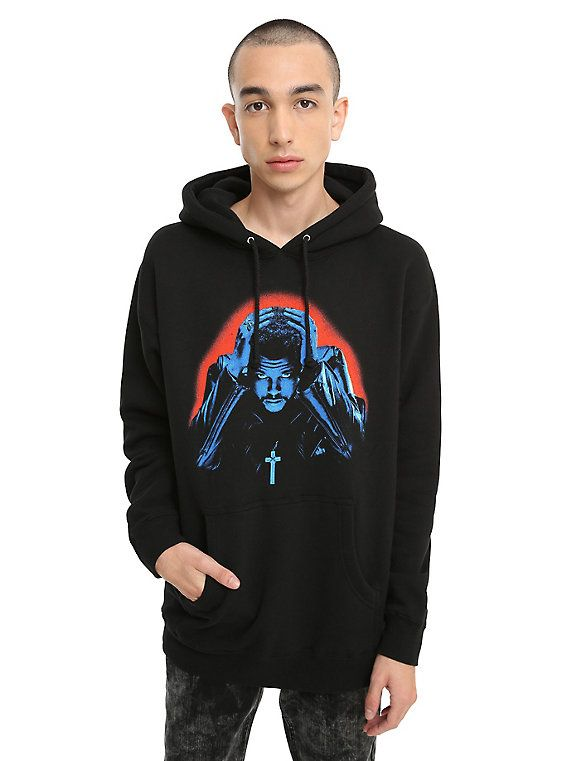 The Weeknd Starboy XO Hoodie, BLACK