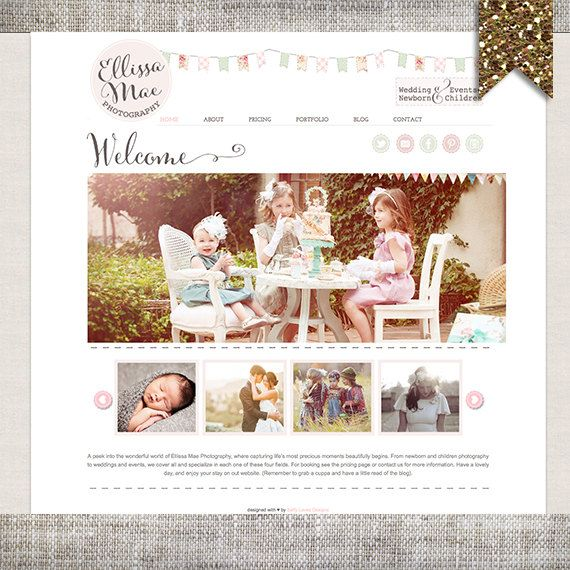 Custom Website Design  Wordpress Website Quite like the style/look of this