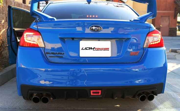 Subaru Impreza Fog Light Bar