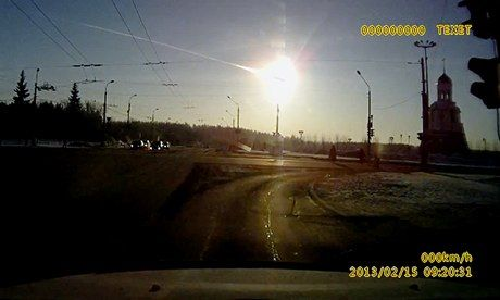 Meteor in Russia today...