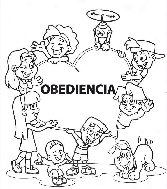 Resultado De Imagen Para La Obediencia Para Colorear