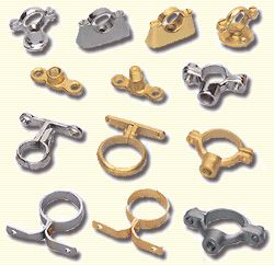 Pipe Support System #PipeSupportSystem  Cast Brass Bronze S.S. Gun Metal Pipe Clamps Clips Support Systems Brackets Fittings Components Pipe fittings fixings Hospital Saddles clamps