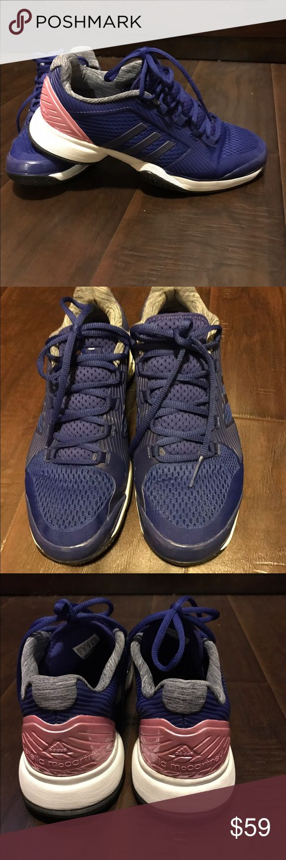 Stella maccartney barricade tennis shoes by adidas Worn twice and still in awesome condition. Adidas by Stella McCartney Shoes Athletic Shoes