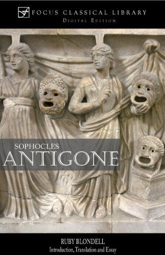 What are examples of dramatic irony in Antigone, particularly from the beginning of the play?