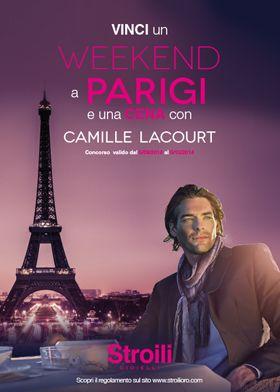 #StroiliOro ti regala un viaggio a Parigi e una cena con il famoso nuotatore Camille Lacourt! Scopri il concorso www.stroilioro.com