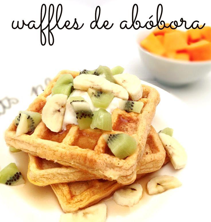 waffles abobora
