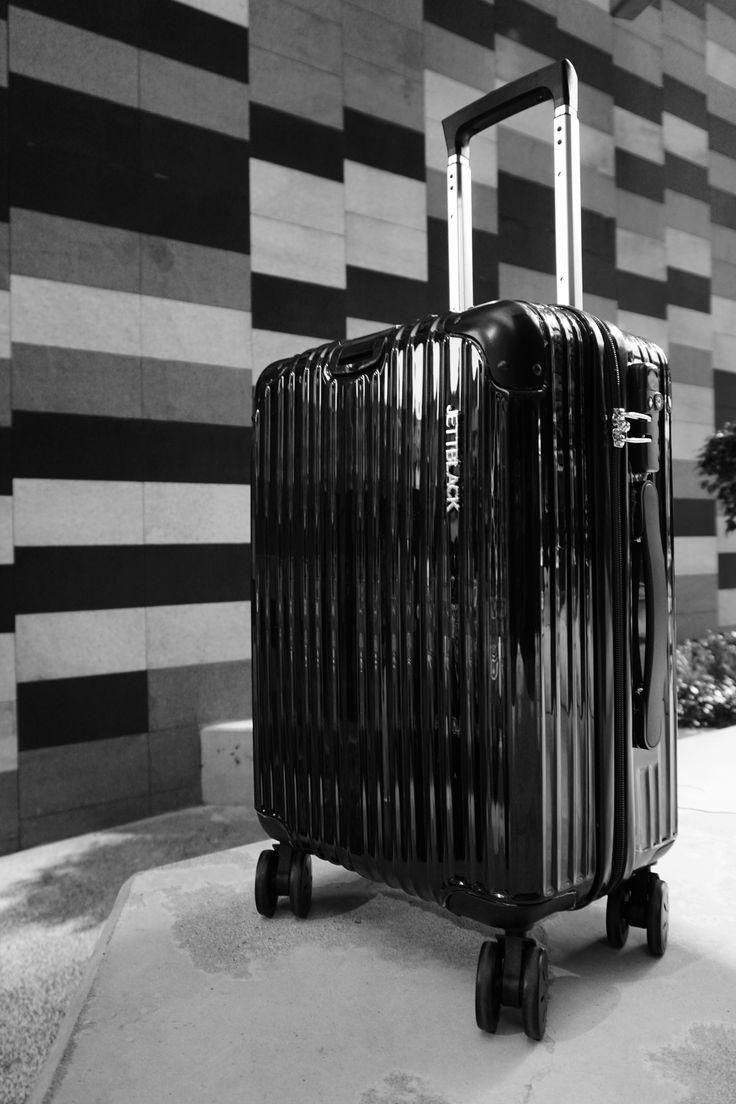 Boss Black Carry On Suitcase by JETT BLACK
